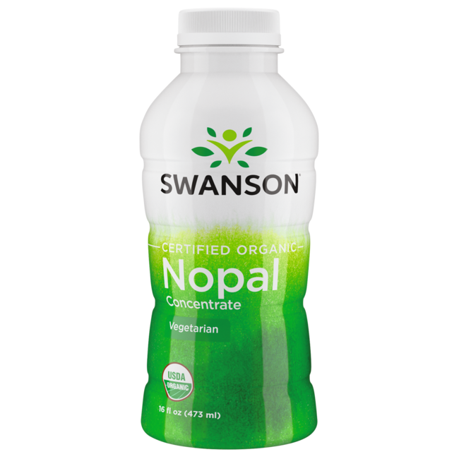 Swanson OrganicCertified Organic Nopal Juice