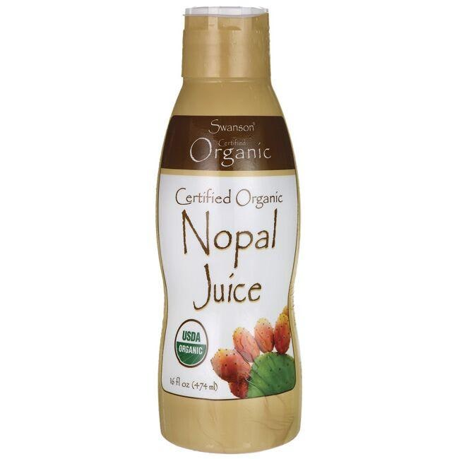 Swanson OrganicCertified Organic Nopal Concentrate