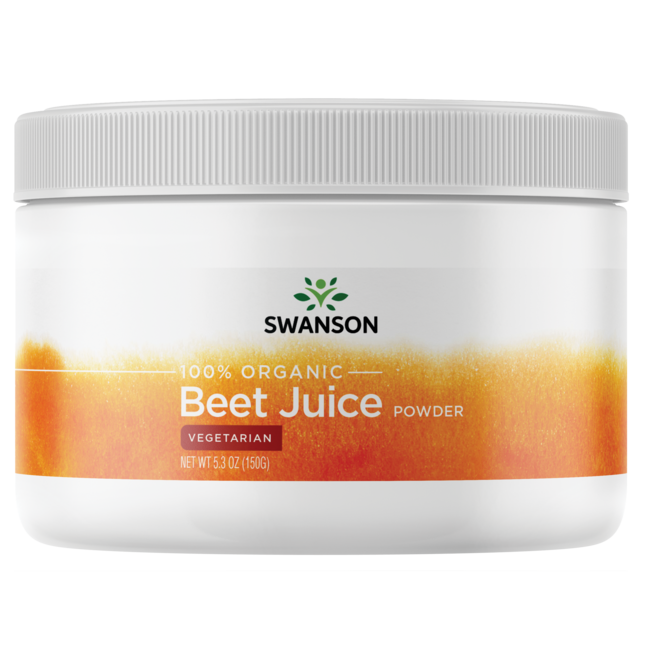 Organic Beet Juice Powder Swanson Health Products
