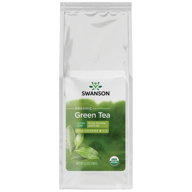 Swanson Organic Organic Green Tea - Loose Leaf