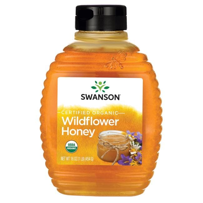 Certified Organic Raw Wildflower HoneyItem | SWF152