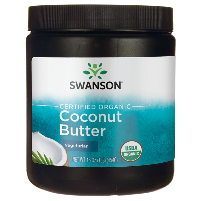 Swanson Organic Coconut Butter