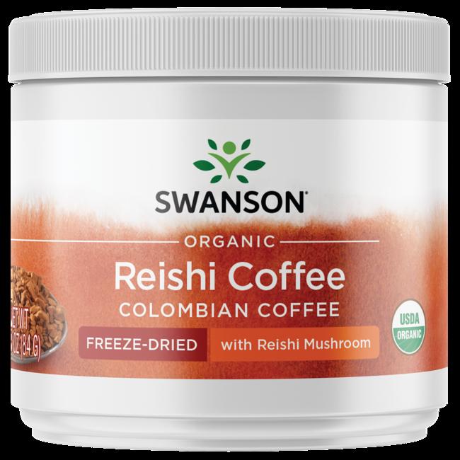Swanson OrganicCertified Organic Ganoderma (Reishi) Coffee