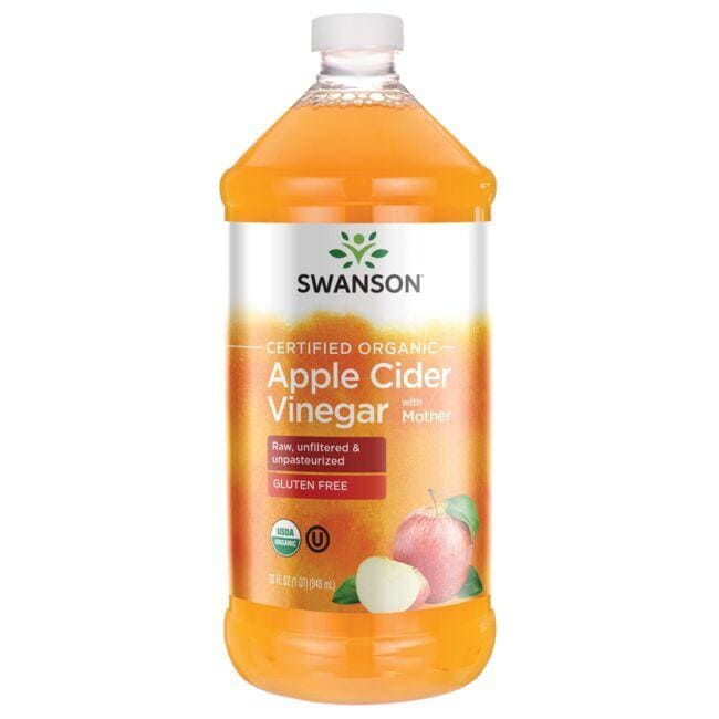 Swanson Organic Certified Organic Apple Cider Vinegar with Mother