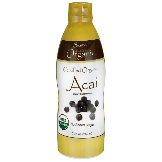 Swanson OrganicCertified Organic Acai Concentrate