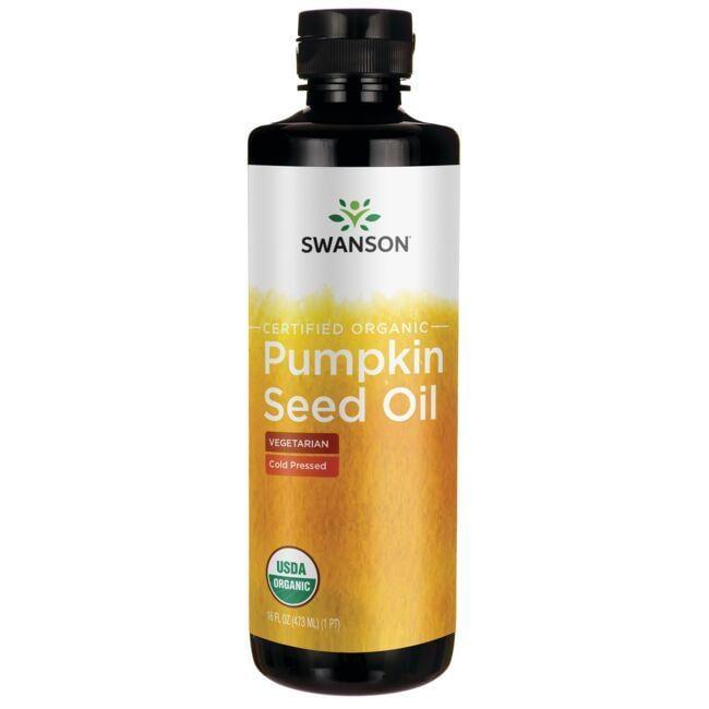 Swanson OrganicCertified Organic Pumpkin Seed Oil - Cold Pressed