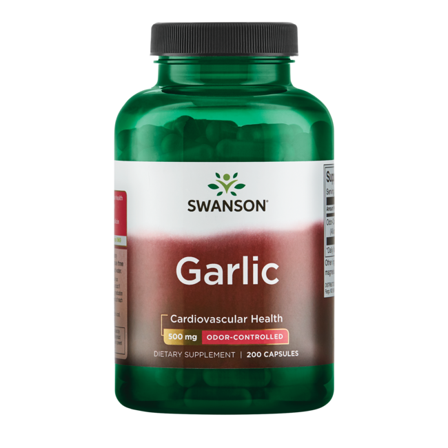 What vitamins are in garlic