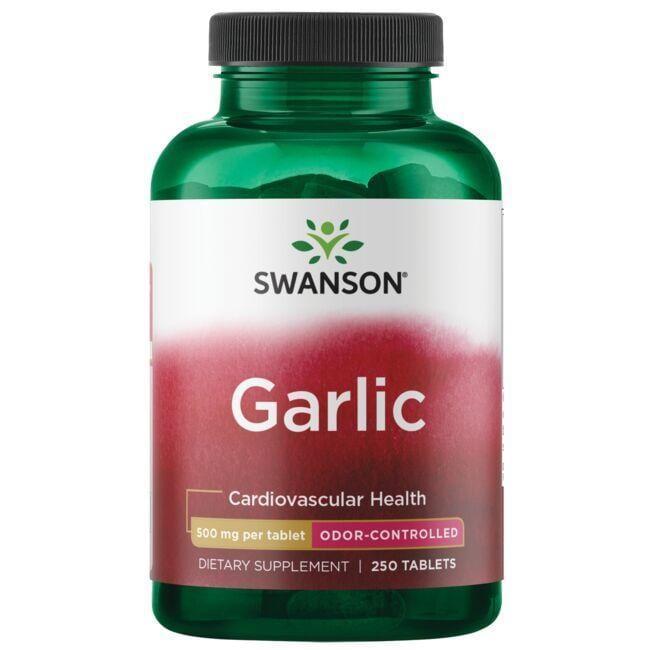 Swanson Best Garlic SupplementsOdor-Controlled Garlic