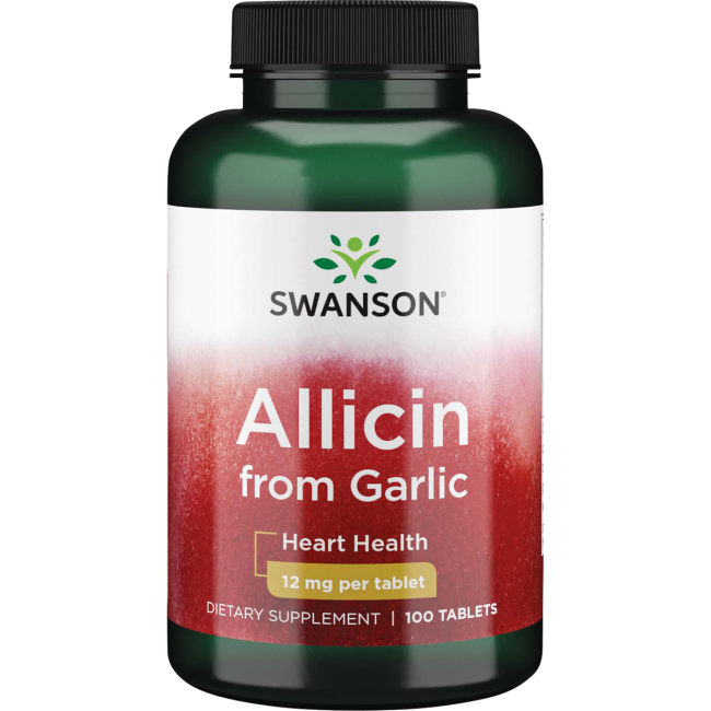 Swanson Best Garlic SupplementsMaximum-Strength 100% Pure Allicin