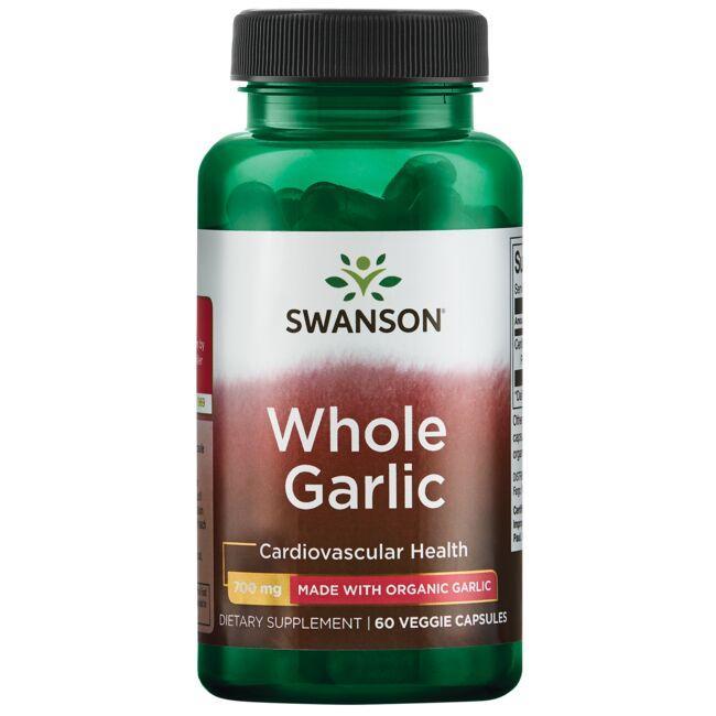 Swanson Best Garlic SupplementsWhole Garlic - Made with Organic Garlic
