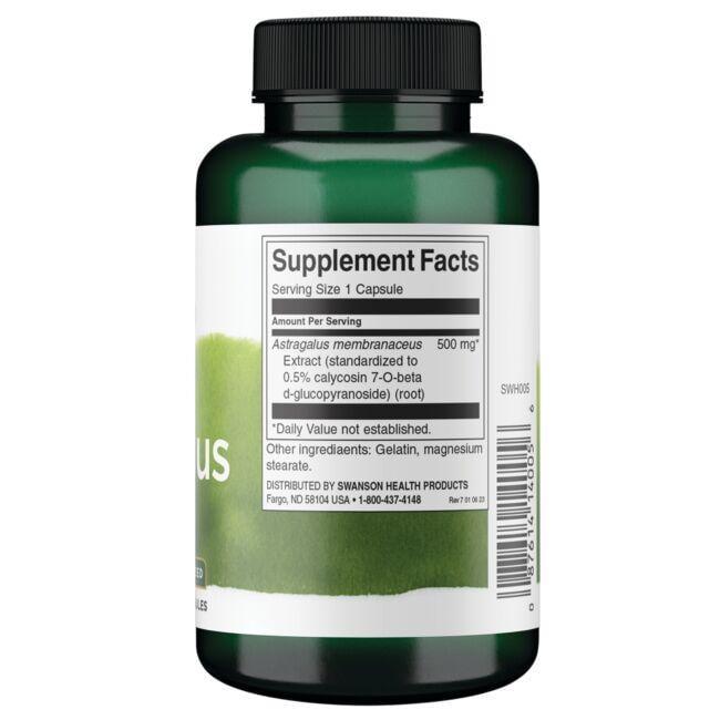 Swanson Superior HerbsAstragalus Close Up