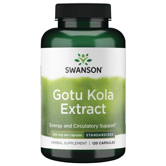 Swanson Superior HerbsGotu Kola (Standardized)