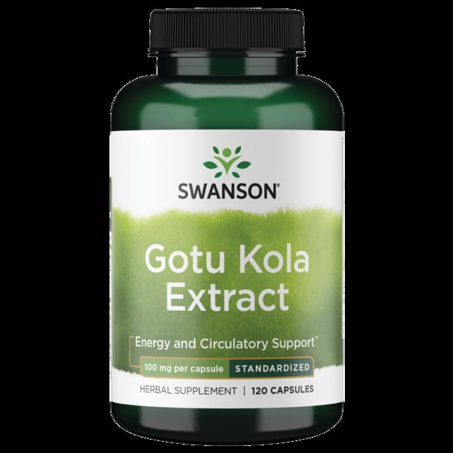 Swanson Superior Herbs Gotu Kola (Standardized)
