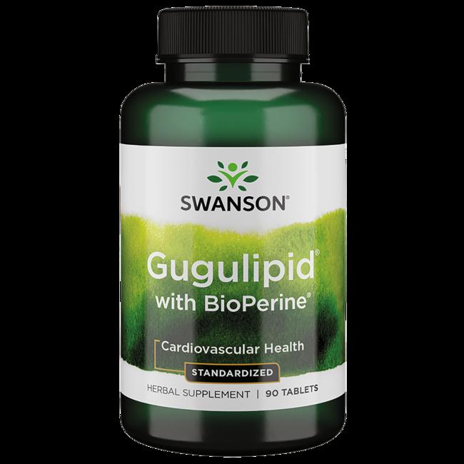 Swanson Superior HerbsGugulipid with Bioperine (Standardized)