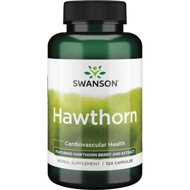 Swanson Superior HerbsHawthorn - Featuring Hawthorn Berry & Extract