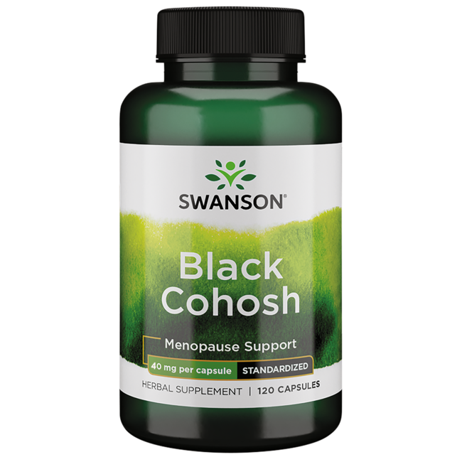Swanson Superior Herbs Black Cohosh (Standardized)