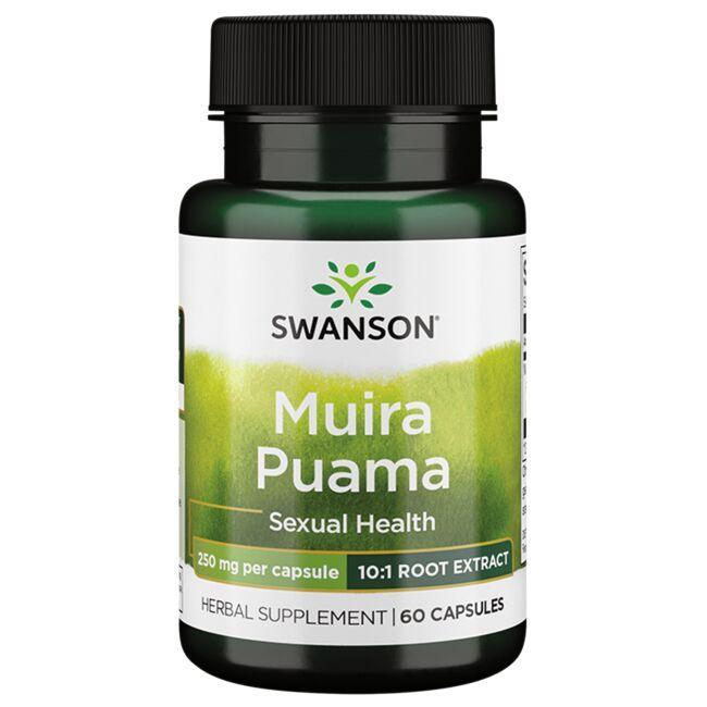 Swanson Superior HerbsMuira Puama - 10:1 Root Extract
