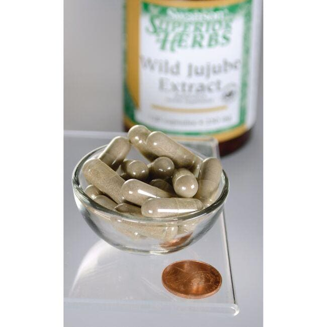 Swanson Superior Herbs Wild Jujube Extract - Standardized Close Up