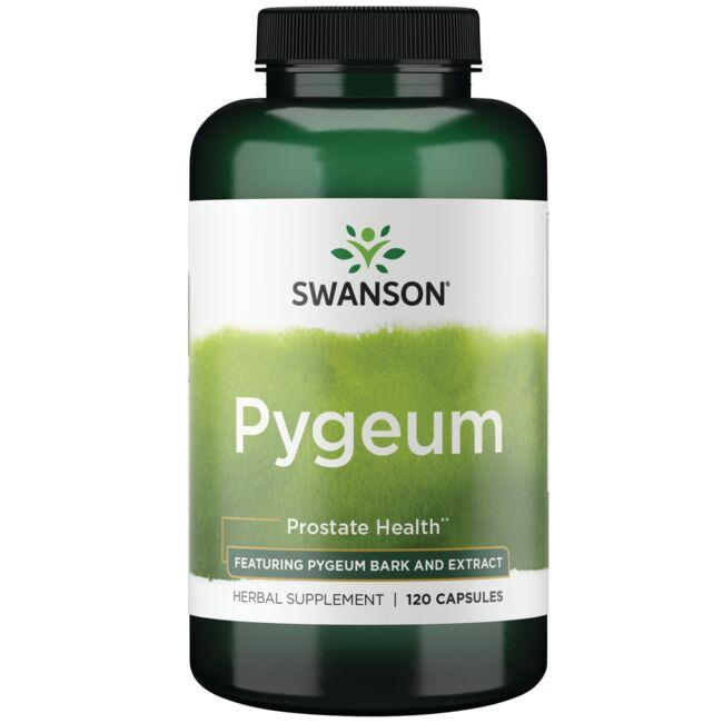 Swanson Superior Herbs Pygeum - Featuring Pygeum Bark & Extract
