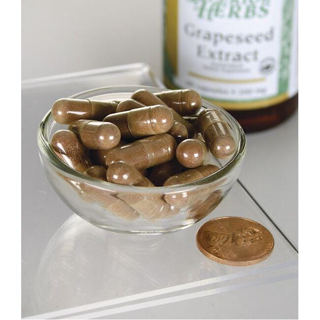 Swanson Superior HerbsGrape Seed Extract Close Up