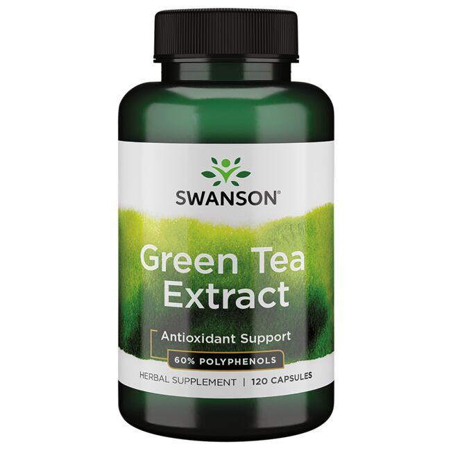 Swanson Superior Herbs Green Tea Extract - 60% Polyphenols