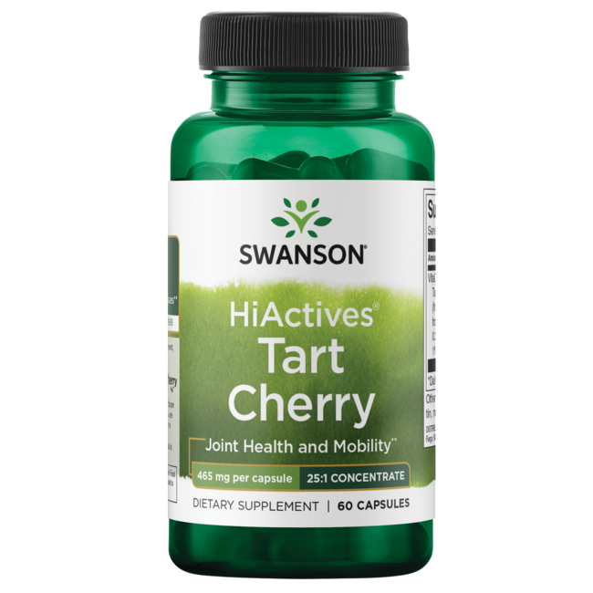 Swanson Superior HerbsHiActives Tart Cherry