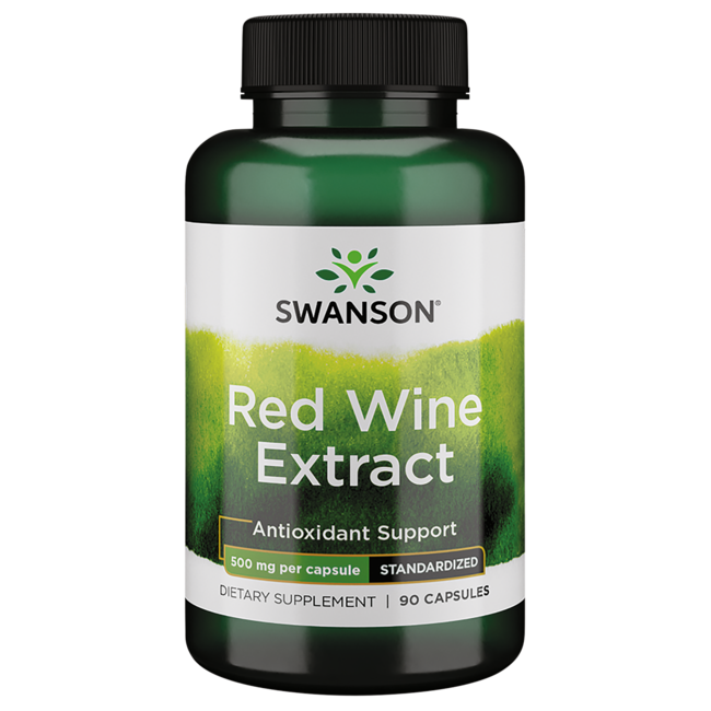 Swanson Superior Herbs Red Wine Extract