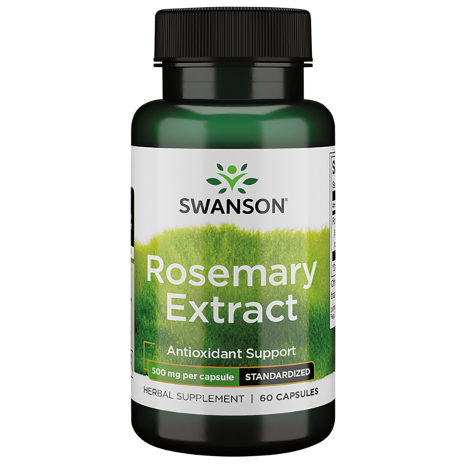 Swanson Superior Herbs Rosemary Extract