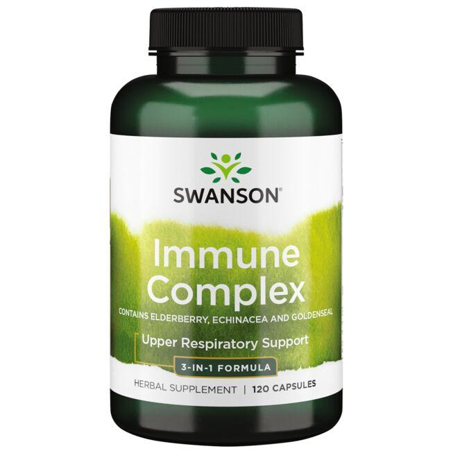 Swanson Superior Herbs Immune Complex - Contains Elderberry Echinacea and Goldenseal