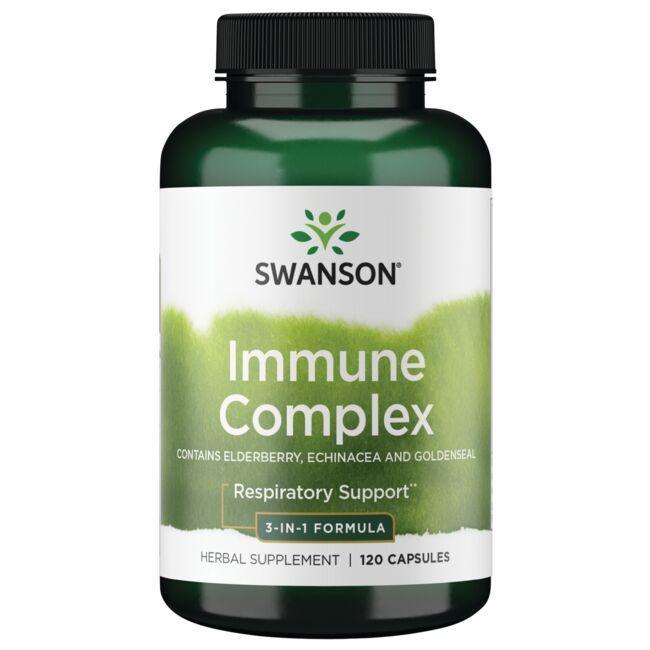 Swanson Superior HerbsImmune Complex - Contains Elderberry Echinacea and Goldenseal