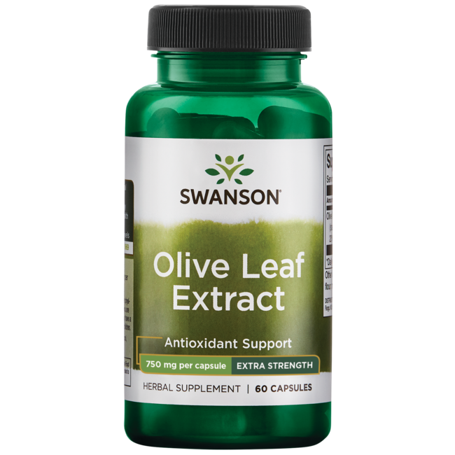 Swanson Superior Herbs Olive Leaf Extract Super Strength