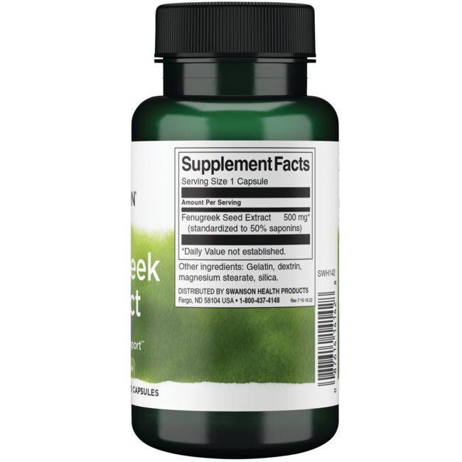Swanson Superior HerbsFenugreek Extract Close Up