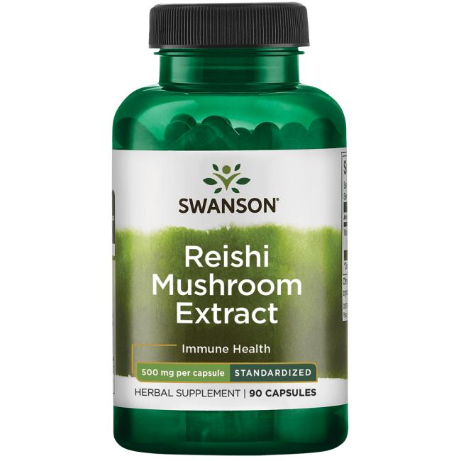 Swanson Superior HerbsReishi Mushroom Extract - Standardized