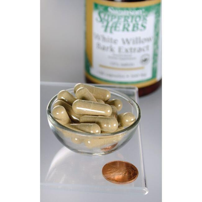 Swanson Superior HerbsWhite Willow Bark Extract Close Up