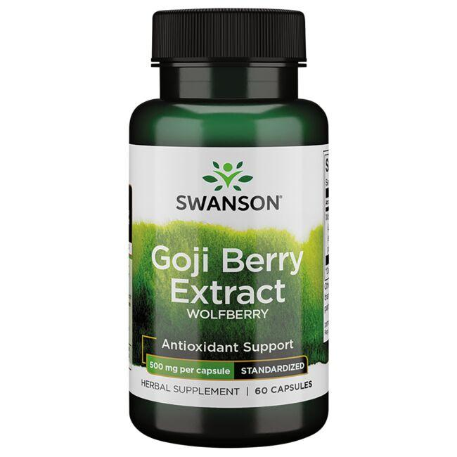 Swanson Superior Herbs Wolfberry Standardized Extract (Goji Berry)