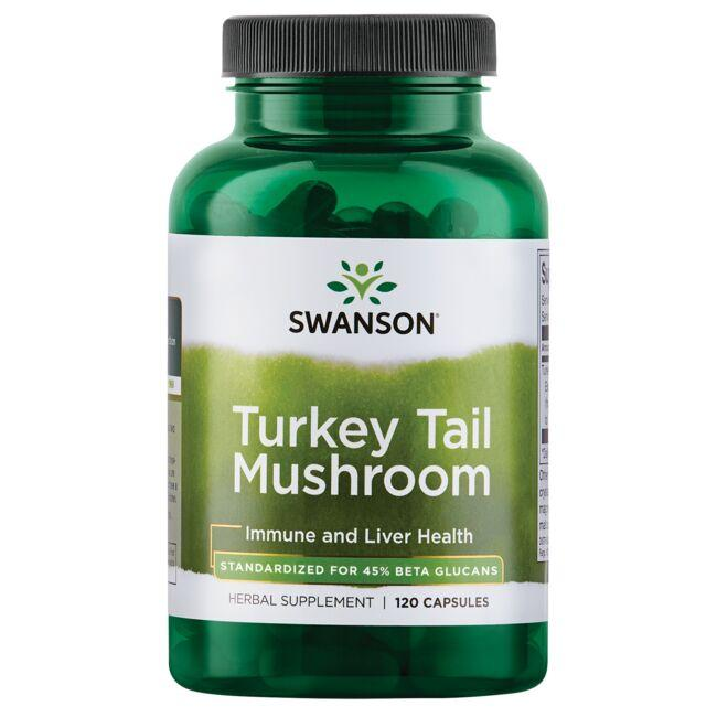 Swanson Superior Herbs Turkey Tail Mushroom