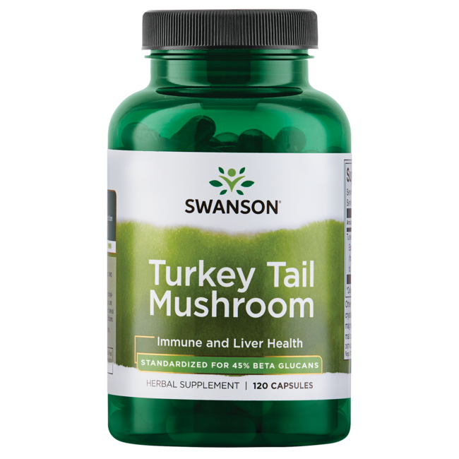 Swanson Superior Herbs Turkey Tail Mushroom