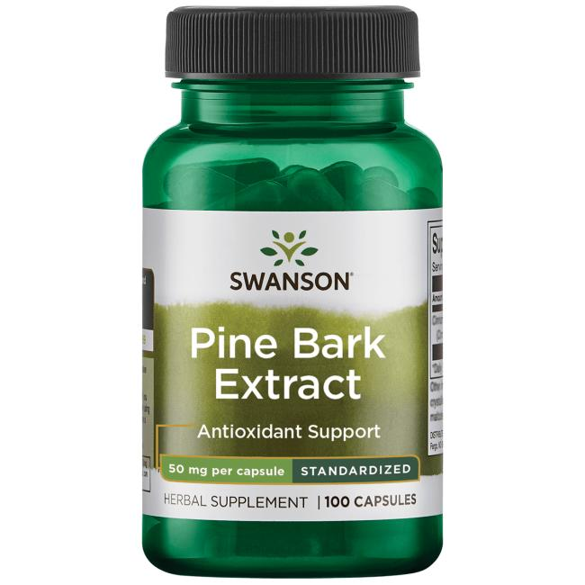 Swanson Superior Herbs Pine Bark Extract - Standardized