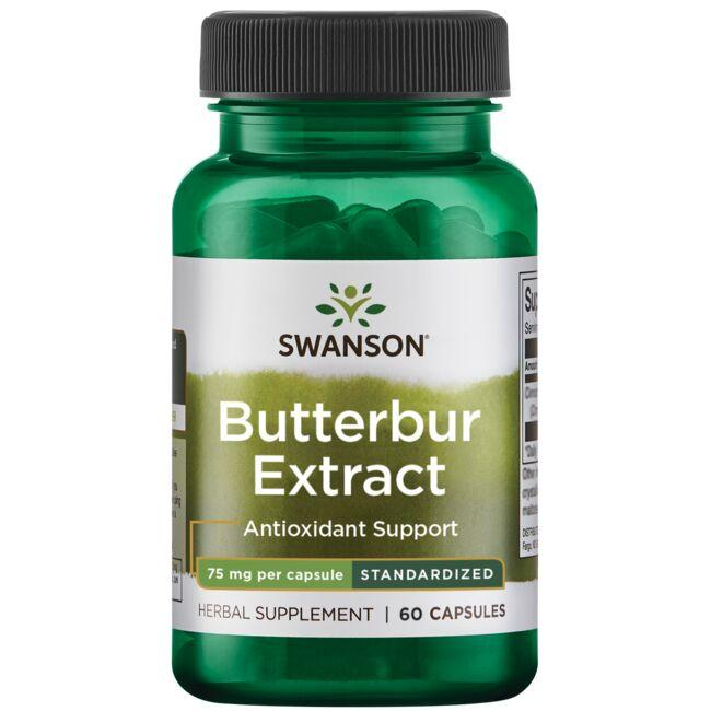 Swanson Superior HerbsButterbur Extract - Standardized
