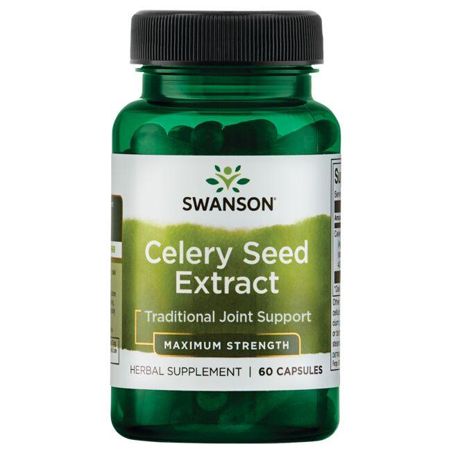 Swanson Superior Herbs Celery Seed Extract - Maximum Strength