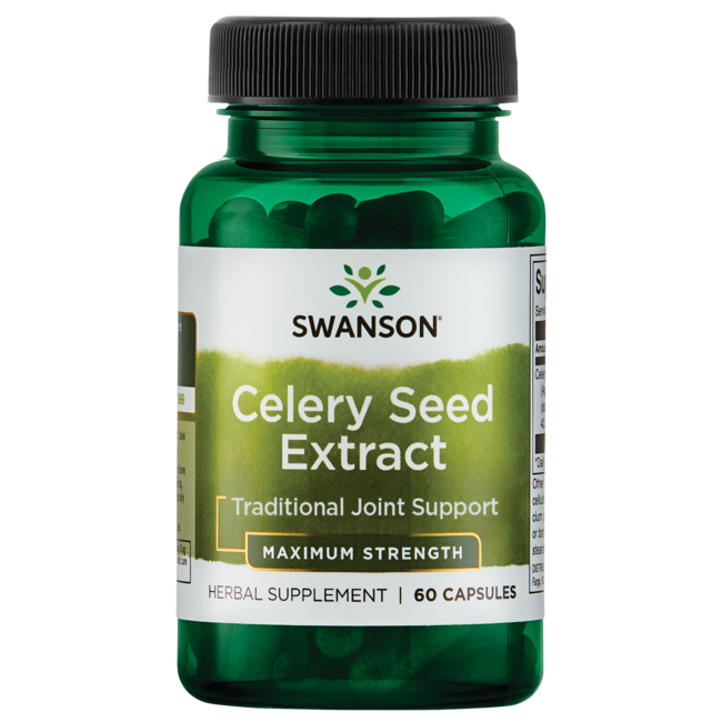 Swanson Superior Herbs Maximum Strength Celery Seed Extract