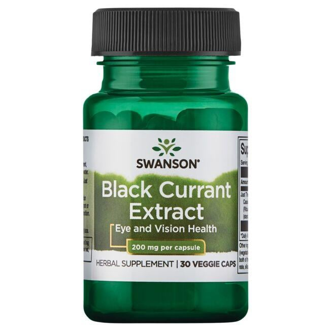 Swanson Superior Herbs Black Currant Extract