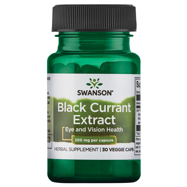 Swanson Superior HerbsBlack Currant Extract (Cassis)