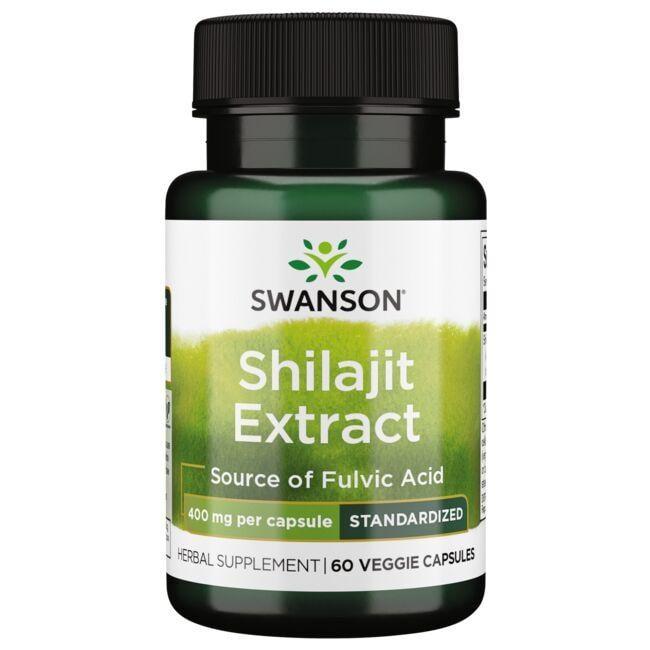 Swanson Superior HerbsShilajit Extract - Standardized