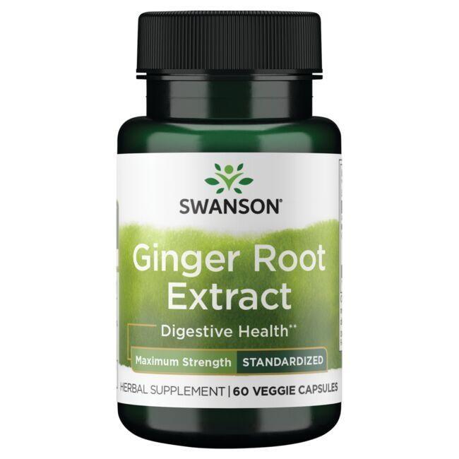 Swanson Superior HerbsMaximum Strength Ginger Root Extract