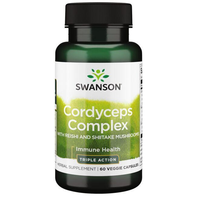 Swanson Superior HerbsCordyceps Complex with Reishi and Shiitake Mushrooms