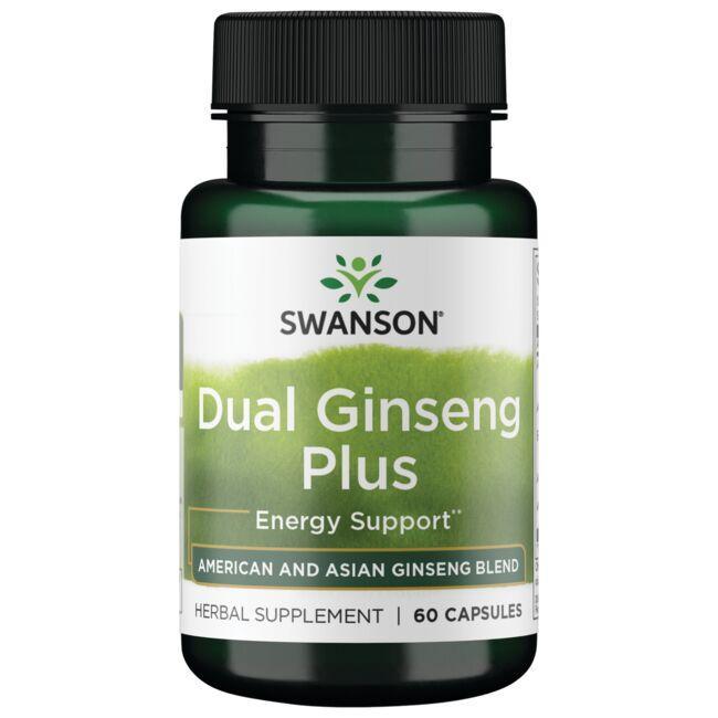 Swanson Superior HerbsDual Ginseng Plus