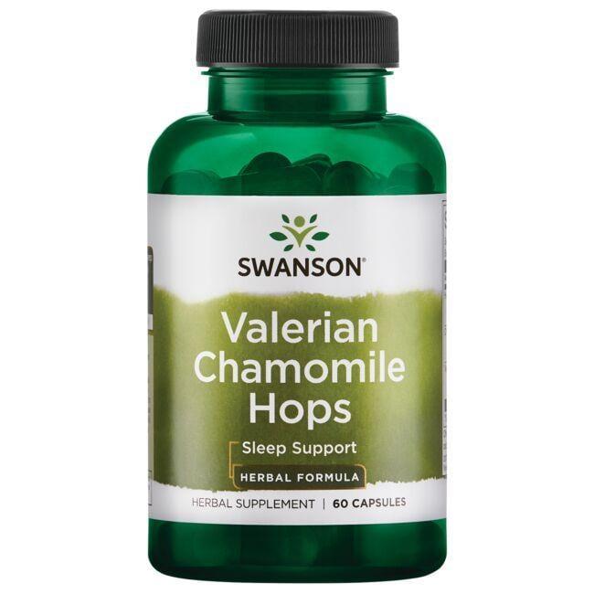 Swanson Superior HerbsValerian Chamomile Hops