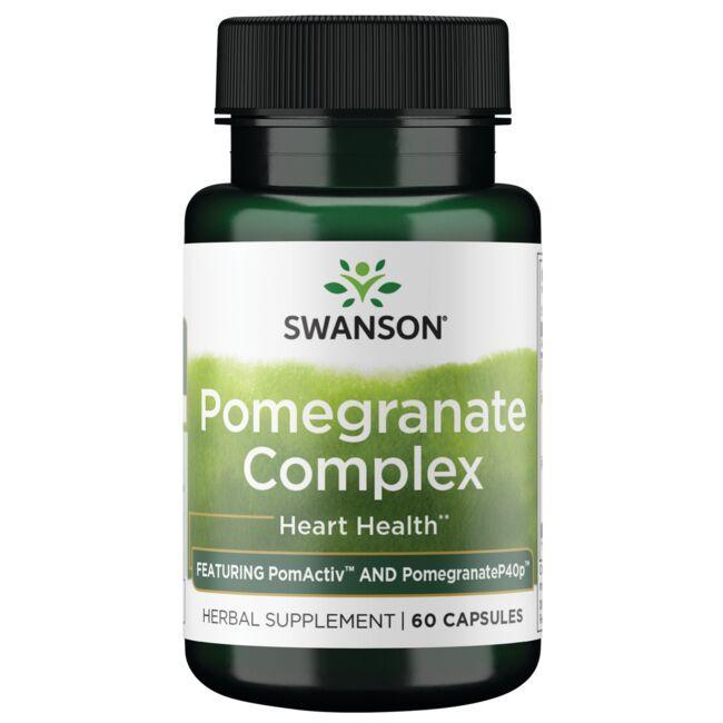 Swanson Superior HerbsPomegranate Punicoside Complex
