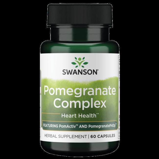 Swanson Superior Herbs Pomegranate Punicoside Complex